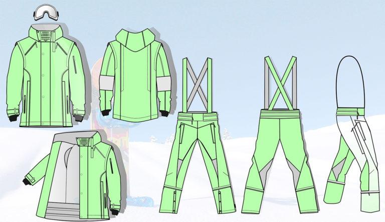 эскизы костюма для катания