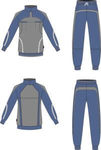 Эскиз спортивного костюма