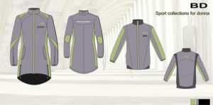 эскиз куртки